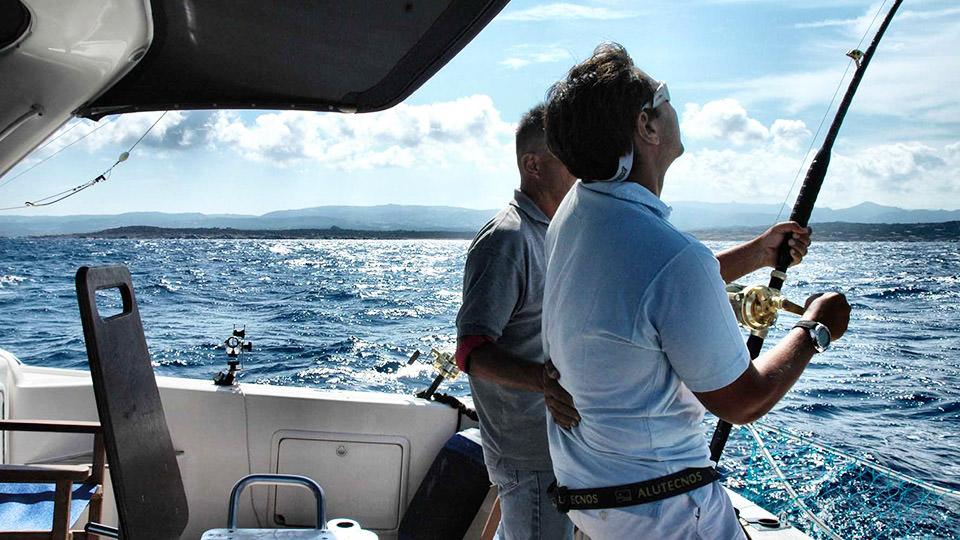 Excursions along the Costa Smeralda and to the La Maddalena Archipelago -  Deep-sea Fishing, boat trips, diving, hotel bikes at the Cala di Falco  Resort